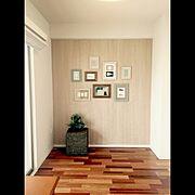 DIY/アイパネル/ヘヤデコ/磁石のつく壁/写真フレーム…などのインテリア実例