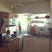 IKEA/無印良品/北欧/社宅/Kitchen…などのインテリア実例