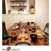 ダイニングテーブル/無印良品/IKEA/手作り/キッチン雑貨/100均…などのインテリア実例