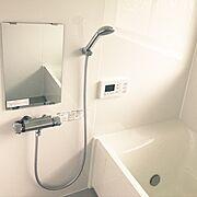 リフォーム/中古住宅/築40年/シンプル/Bathroom…などのインテリア実例