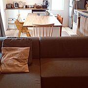 ハリオ/ストウブ/スタンレー♪/IKEA/古道具屋さんで出会った物♡/男前…などのインテリア実例