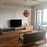 ハンズデザイン一級建築士事務所/マンション暮らし/無垢の床/北欧/北欧インテリア/アーティチョーク…などのインテリア実例