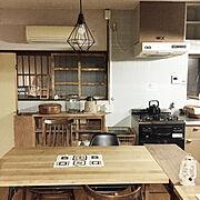 ニトリ照明モニター/照明/ニトリ/Kitchen…などのインテリア実例