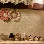 My Desk/趣味の時間/新作♡/オリジナル/編み物/私の時間…などのインテリア実例