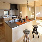 造作キッチンのインテリア実例写真