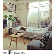 ワンルーム 狭い/14㎡/一人暮らし/賃貸/RoomClip mag/Overview…などのインテリア実例