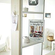 雑貨/白い部屋/DIY/飾り棚/RoomClipStyle/My Shelf…などのインテリア実例