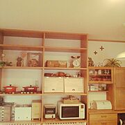 ドライフワー/とりかごさん☆/はかり/いなざうるす屋さん❤/ルクルーゼ/無印…などのインテリア実例