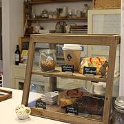 シフォンケーキ/salut!/サリュ/ショーケース/Kitchen…などのインテリア実例