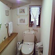 無印良品/3Coins/セリア/DIY/ウォールステッカー/Bathroom…などのインテリア実例