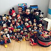おもちゃコレクションのインテリア実例写真