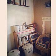アンティーク/My Shelf…などのインテリア実例