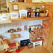 キャンディーポット/ダイソー/DIY/セリア/Kitchen…などのインテリア実例