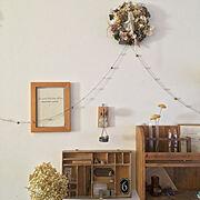 リビング/雑貨/ナチュラルアンティーク/古いもの/koharuさんの作品/My Shelf…などのインテリア実例
