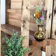 お花/観葉植物/アンティーク/天井の高いお家/真壁/木の家…などのインテリア実例