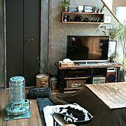 壁紙屋本舗/ブログよかったら見てみて下さい♩/コメント欄お休みでお願いします/壁をペンキで塗る…などのインテリア実例