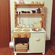 DIY/雑貨/DIY おままごとキッチン/Overview…などのインテリア実例
