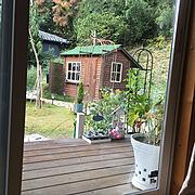 Bathroom/こどもと暮らす。/小屋のある庭/NO GREEN NO LIFE/花のある暮らし…などのインテリア実例