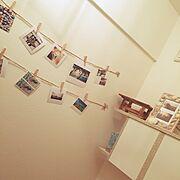 雑貨/ダイソー/100均/現像/写真 /壁に飾る…などのインテリア実例