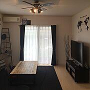 ダイソー/アンティーク/DIY/IKEA/男前/カフェ風…などのインテリア実例
