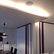天井付けスピーカーのインテリア実例写真