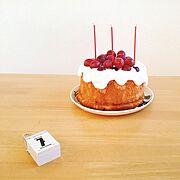 手作りケーキ/My Desk…などのインテリア実例