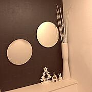 カフェ風/レンガ/鏡/雑貨/DIY/Bathroom…などに関連する他の写真