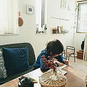 バードオブジェ/リサラーソン/流木/姫南天の葉/DIY/木かるねんど…などに関連する他の写真