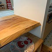 カウンターテーブルのインテリア実例写真