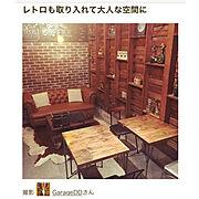アンティーク/スタバ♡LOVE/DIY/カフェ風インテリアを目指して/ガレージ…などに関連する他の写真