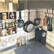 DIY/100均/カラーボックス/Kitchenに関連する他の写真