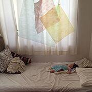 定点観測はじめてみました/無印良品/ひかり/リメイクおもちゃ/包装紙/赤ちゃんのいる暮らし…などのインテリア実例