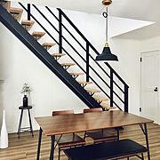 Kitchen/フェイクグリーン/フラワーベース/照明/LIXIL/椅子…などのインテリア実例