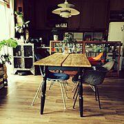 IKEA/ダイニングテーブル…などのインテリア実例