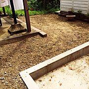 庭/猛暑の中、草むしりは大変/Entrance…などのインテリア実例