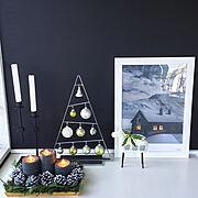 IKEA/NO GREEN NO LIFE/H&Mホーム/モノトーン/シンプルインテリア…などのインテリア実例