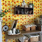DIY/キッチン収納/真面目に家pic/オープン収納/コンロまわり/建売住宅…などに関連する他の写真