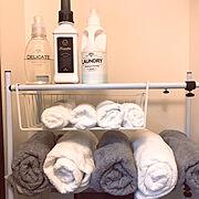 一人暮らし/IKEA/カインズ/Bathroom…などのインテリア実例