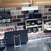 洗面所/ニトリ/セリア/塩系インテリアの会/整理整頓/DIY棚…などに関連する他の写真