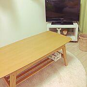 ローテーブル/リサラーソンライオン/リサラーソンワードローブシリーズ/Lounge…などのインテリア実例