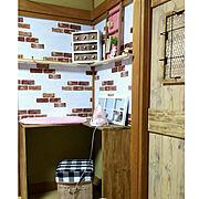 ダイソー/セリア木枠窓/カフェ風インテリアを目指して/セリアリメイク/フェイクグリーン…などに関連する他の写真