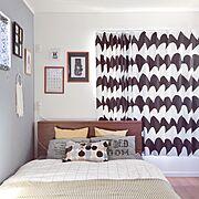 Bedroom/marimekko/無印良品/北欧/寝室/IKEA…などのインテリア実例