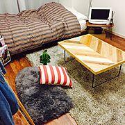 初投稿です/一人暮らし/journal standard Furniture/ヘリンボーン…などのインテリア実例