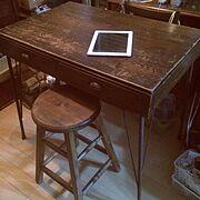 DIY/Whitter Wood Product/スツールDIY/アイアン…などのインテリア実例