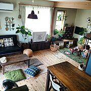 Overview/みんなからの素敵便/家具はお義父さんがDIY!/すっきり暮らしたい…などのインテリア実例