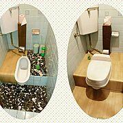 和式トイレのインテリア実例写真