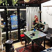 Lounge/インダストリアル/自作ポスター/汚し/塩ビパイプの匠/壁紙屋本舗…などに関連する他の写真