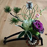 花車のインテリア実例写真