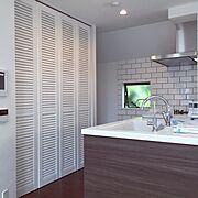 新築建築中/WOODONE/クリナップ KT キッチン/Kitchen…などのインテリア実例