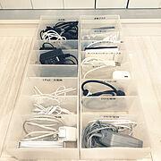 ミニマリストに憧れる/無印良品 ファイルボックス/パソコンデスク/無印良品 収納…などのインテリア実例